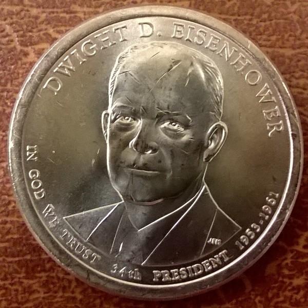 USA 1 Dollar 2015 D Dwight D. Eisenhower (34)