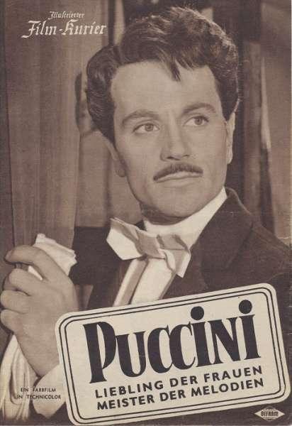 Puccini Liebling der Frauen Meister der Melodien Nr.1848 Illustrierter Film - Kurier