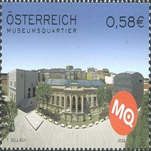 ANK 2422 Museumsquartier 0,58 €** 2002