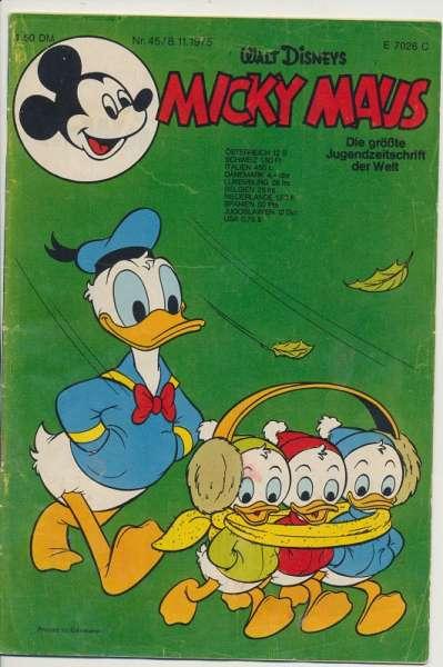Micky Maus Nr. 45/1975