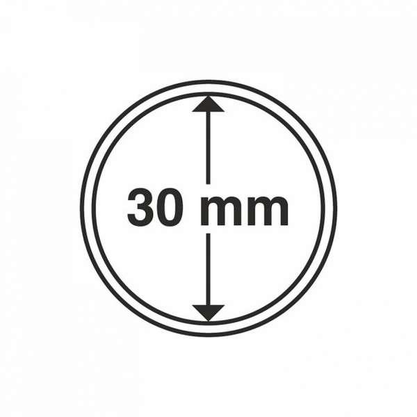 MÜNZKAPSELN CAPS 30 MM, 10 ER PACK