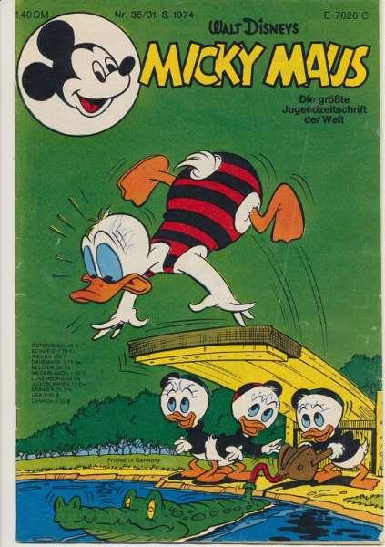 Micky Maus Nr. 35/1974