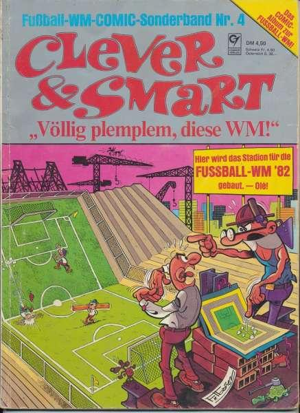 Clever & Smart Fußball WM Comic Sonderband Nr. 04