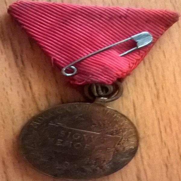 Österreich Erinnerungs Med.Franz Joseph I Signum Memoriae