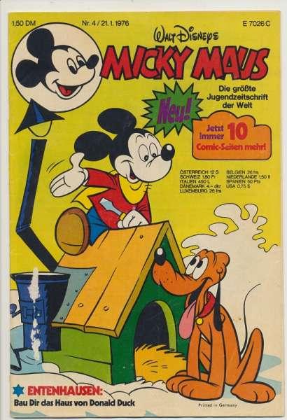 Micky Maus Nr. 4/1976