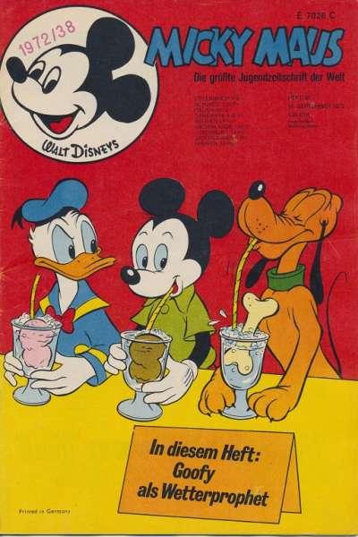 Micky Maus Nr. 38/1972