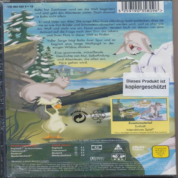 Balto auf der Spur der Wölfe DVD