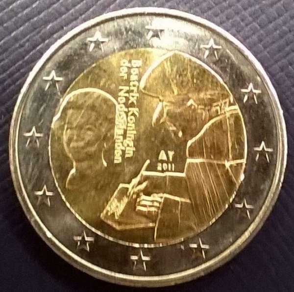 2 Euro Niederlande 2011 Erasmus