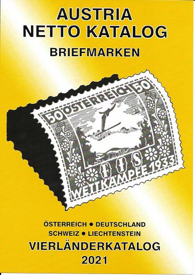 ANK 4 Länderkatalog Briefmarken 2021