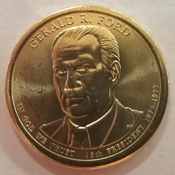 USA 1 Dollar 2016 P Gerald R. Ford (38)