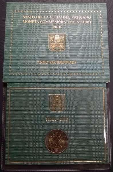 2 Euro Vatikan 2010 Priesterjahr