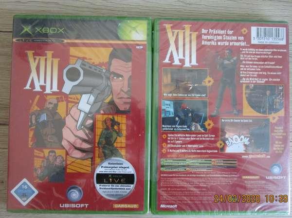 XBox Spiel XIII Neu