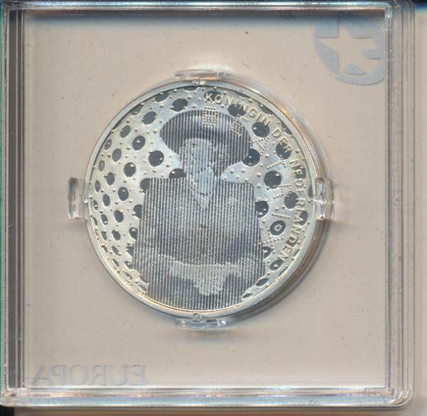 5 Euro 2005 Niederlande Silber Auf den 60. Jahrestag des Endes des 2. Weltkrieges Ag Europa Stern