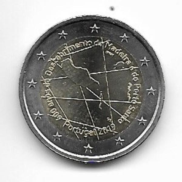 2 Euro Portugal 2019 600 Jahre Madeira
