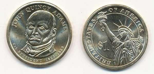 USA 1 Dollar 2008 P John Quinsy Adams (6)