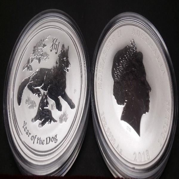 1 Dollars Australien 2018 1 OZ Silber