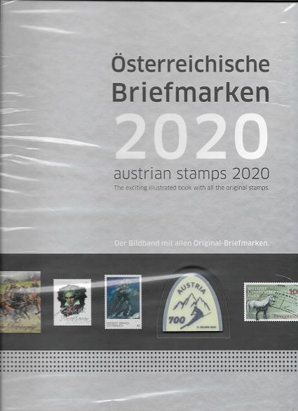 Marken Jahrbuch der Post 2020 Österreich