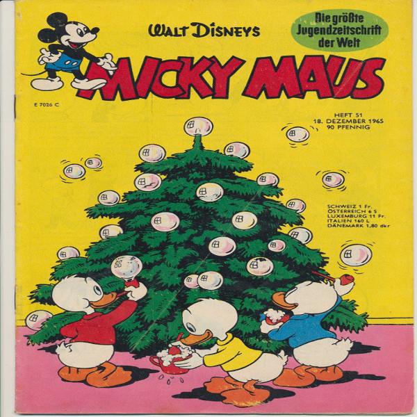 Micky Maus Nr. 51 /1965