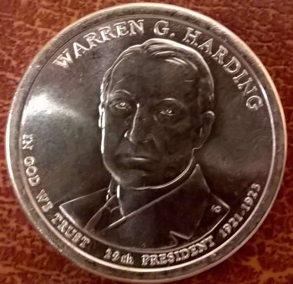 USA 1 Dollar 2014 D Warren G. Harting (29)
