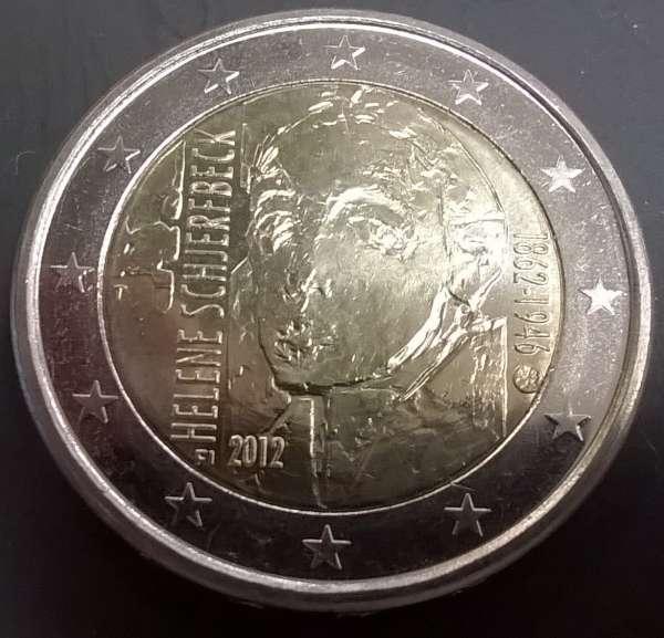 2 Euro Finnland 2012 Helene Schjerfbeck