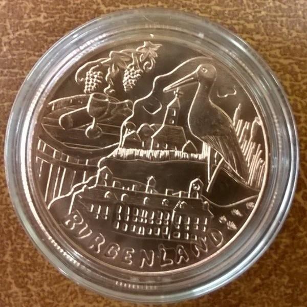 10 Euro 2015 Burgenland Kupfer ANK. Nr.28