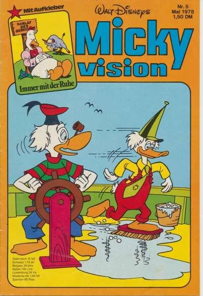 Mickyvision Heft Nr. 5/1978