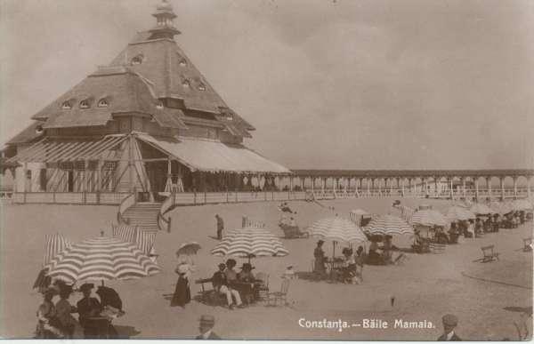 Constanta Baile Mamaia Romania 1914