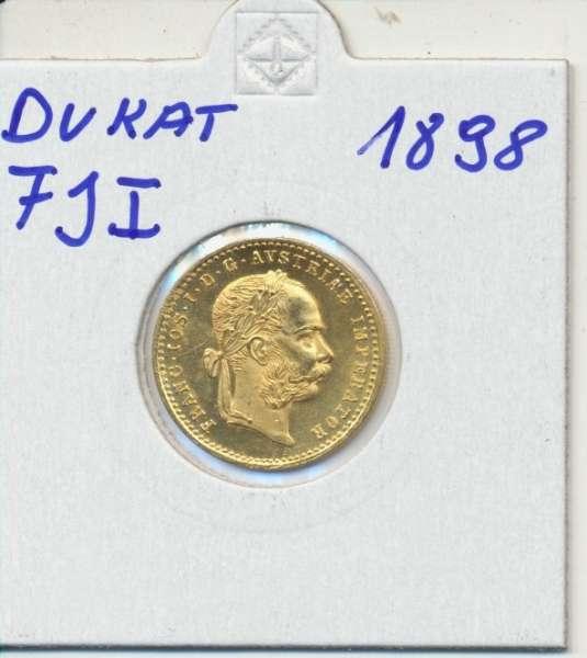 1 Dukaten 1898 Original Franz Joseph I