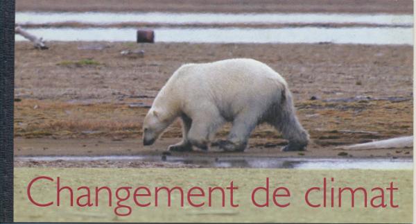 UNO Genf Markenheft Chagement de climat 2008 Postfrisch