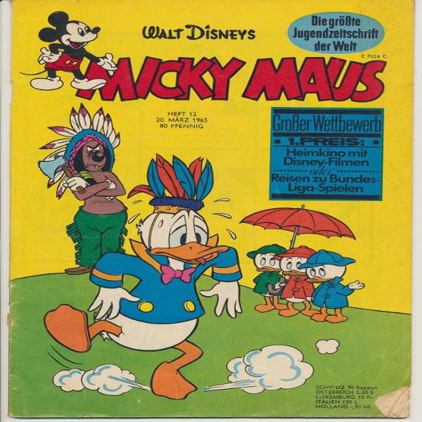 Micky Maus Nr. 12 /1965