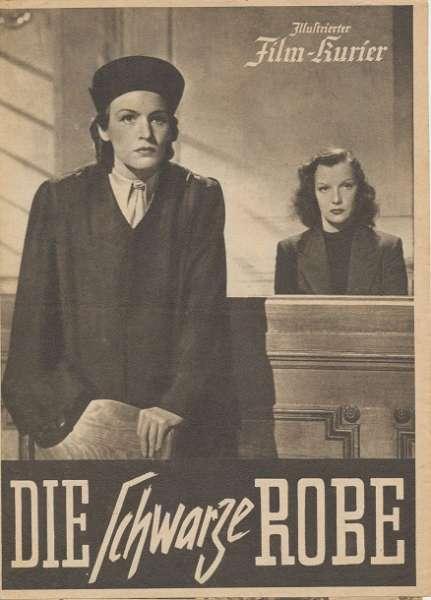 Die schwarze Robe Nr.3367 Illustrierter Film - Kurier