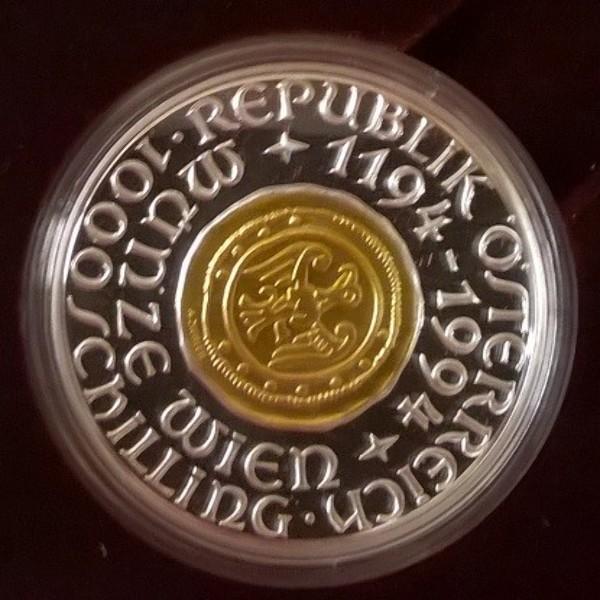 1000 Schilling - 800 Jahre Münze Wien (1994)