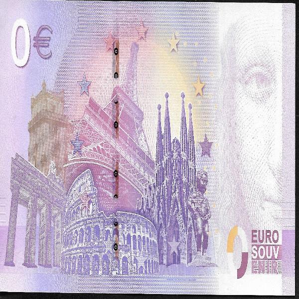 0 Euro Schein 2018 Vatikan Franziskus Unc