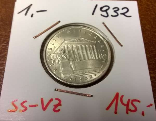 1 Schilling 1932 Silber