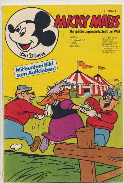 Micky Maus Nr. 4/1973