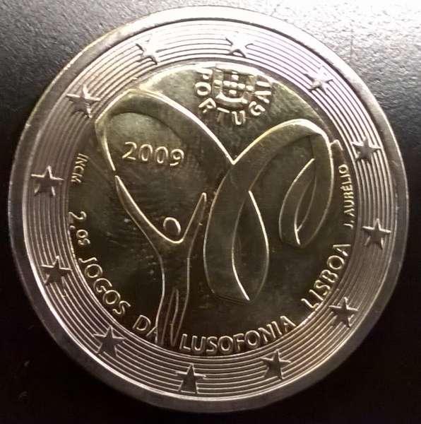 2 Euro Portugal Lusophonie 2009