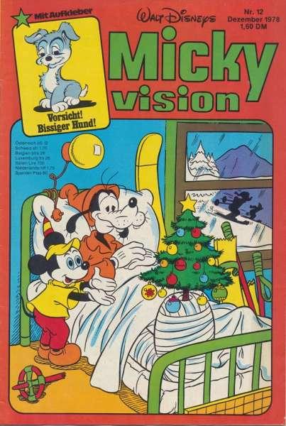 Mickyvision Heft Nr. 12/1978