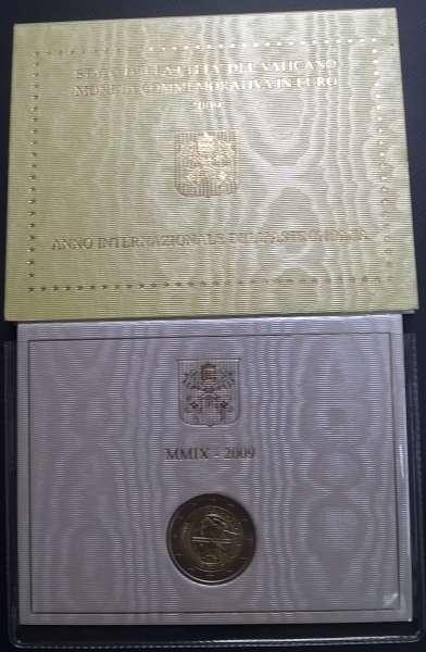 2 Euro Vatikan 2009 Austronomie
