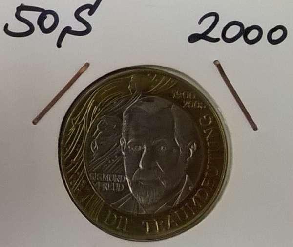 50 Schilling 2000 S.Freud