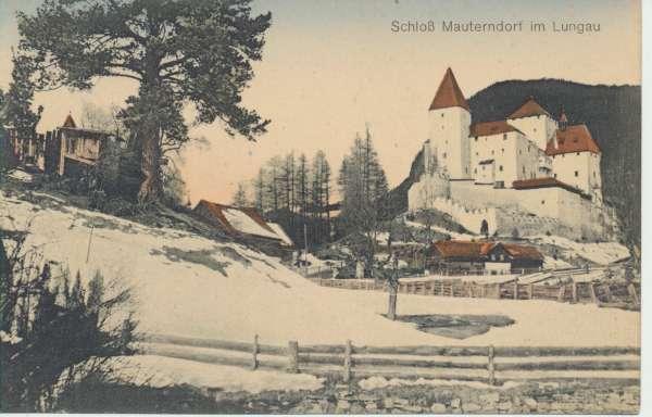 Schloß Mauterndorf im Lungau ca.1920