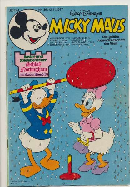 Micky Maus Nr. 46/1977