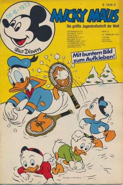 Micky Maus Nr. 6/1973
