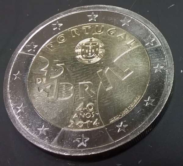 2 Euro Portugal 2014 NELKENREVOLUTION