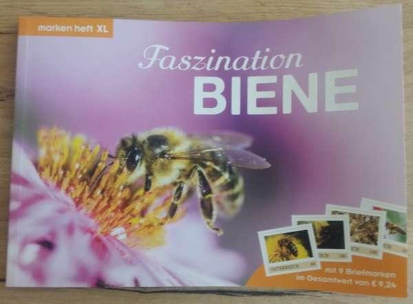 Marken Heft XL Faszination Biene mit 9 Marken