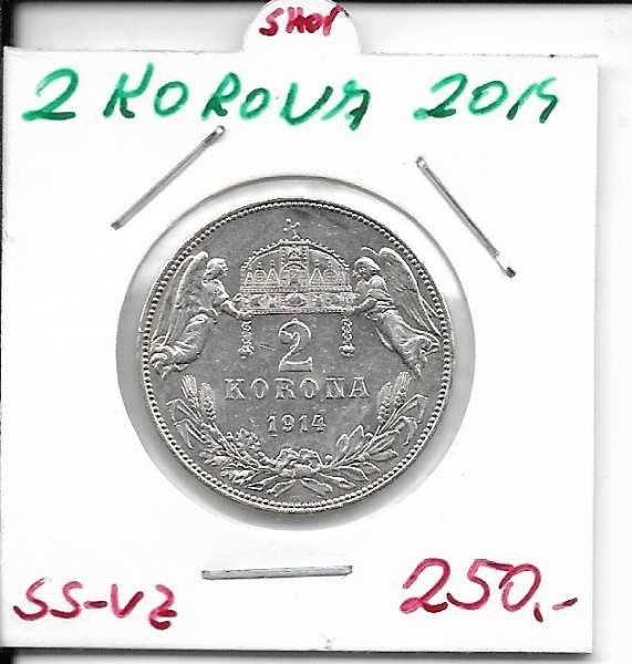 2 Korona 1914 KB ss-vz