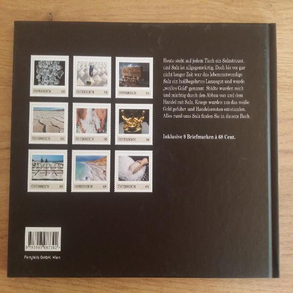Briefmarkenbuch Salz Das weiße Gold 9 exklusive Marken