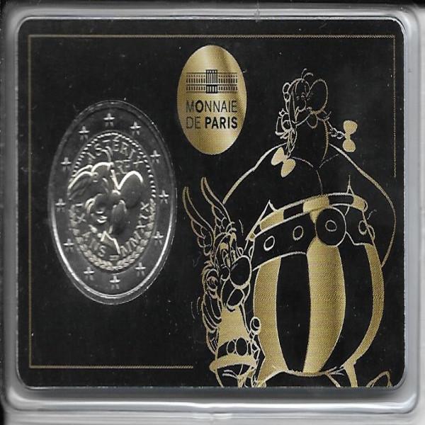 2 Euro Frankreich Asterix Coincard 2019 ( Asterix )