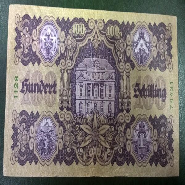 100 Schilling 3.1.1927 Nr.1128 74431
