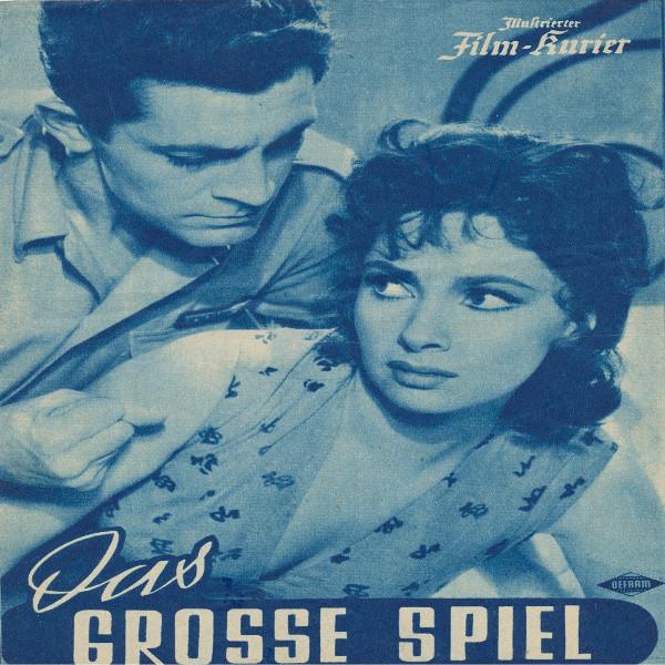 Illustrierter Film - Kurier Das rosse Spiel Nr 2074/1955