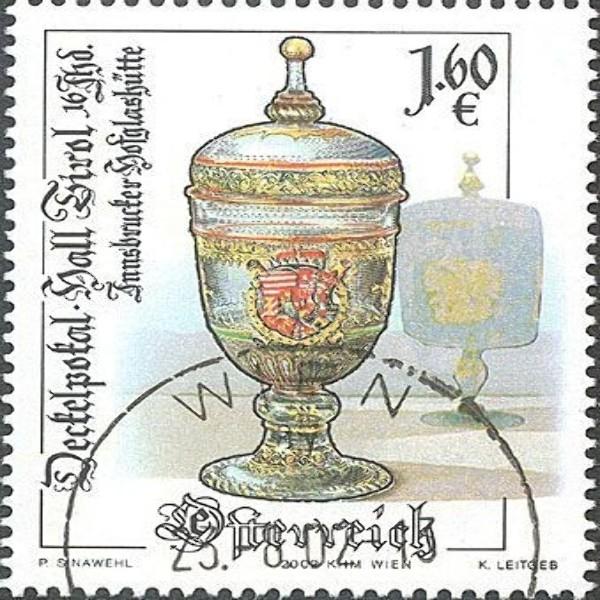 ANK 2421 Altes Kunsthandwerk - Glaspokal 1,60 €** 2002